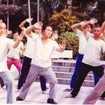 楊式の練習